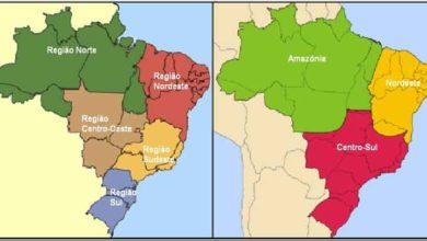 Photo of Regionalizações brasileiras
