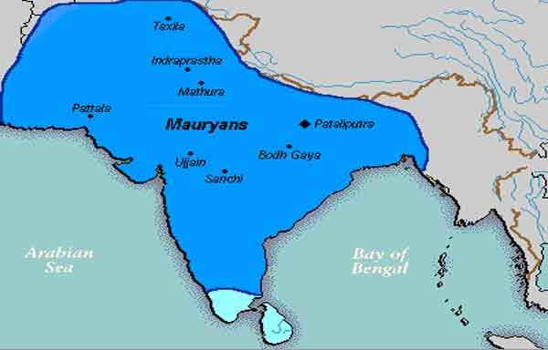 Império Maurya - ascensão, expansão e queda