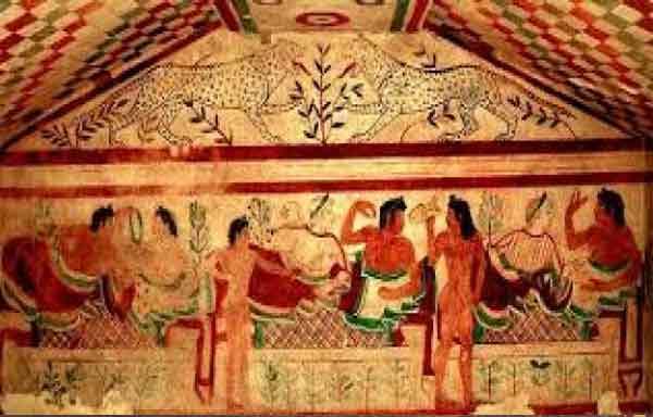 Os Etruscos - religião, arte sociedade