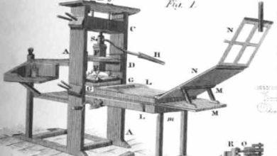 Foto de Invenção da Imprensa de Gutenberg