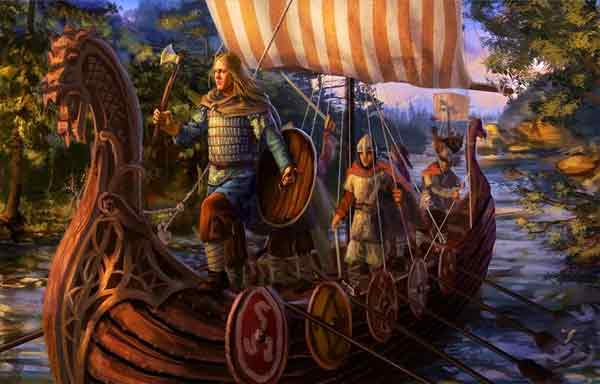 Os Vikings - Povos Normandos