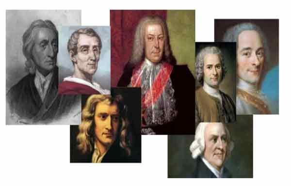 Principais pensadores iluministas
