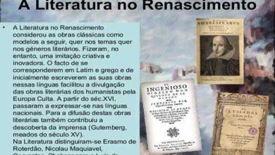 Photo of Renascimento – Literatura