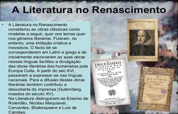 Renascimento - Literatura