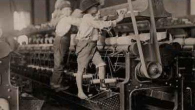 Foto de A indústria têxtil britânica – Revolução Industrial