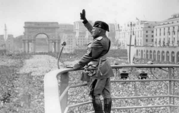 A ascensão do fascismo