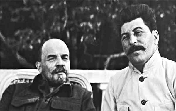 Ascensão de Stalin e a morte de Lenin