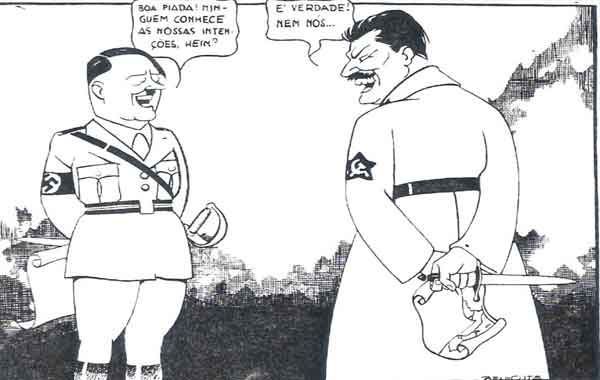 Pacto de não agressão Alemanha-URSS - Pacto Molotov-Ribbentrop