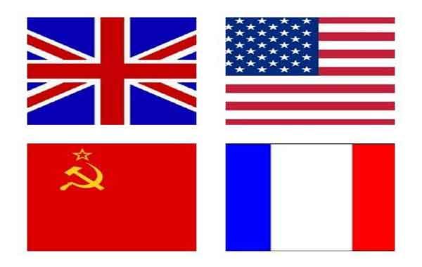 Países aliados da segunda guerra mundial