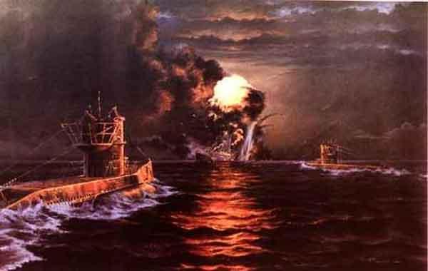 Batalha do Atlântico - Segunda Guerra Mundial