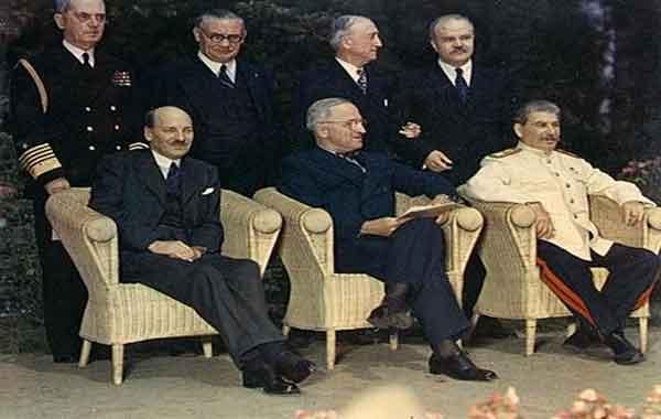 A Conferência de Potsdam - Conferência de Paz da II Guerra Mundial