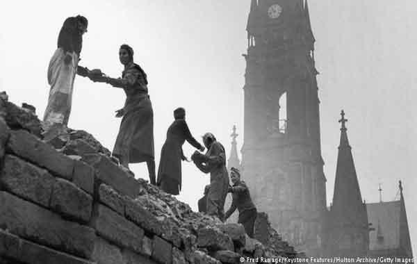 Reconstruindo a Europa depois da I Guerra Mundial