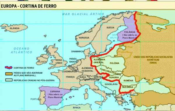 Cortina de Ferro - origem, países envolvidos