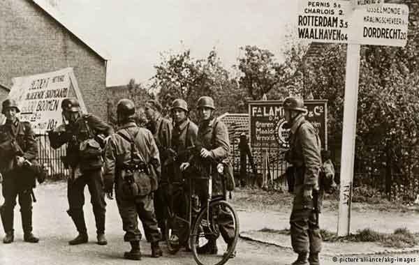 Invasão da Alemanha pelos Aliados Ocidentais e União Soviética