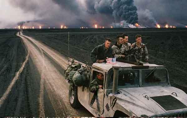 Segunda Guerra do Golfo - Ocupação, invasão do Iraque