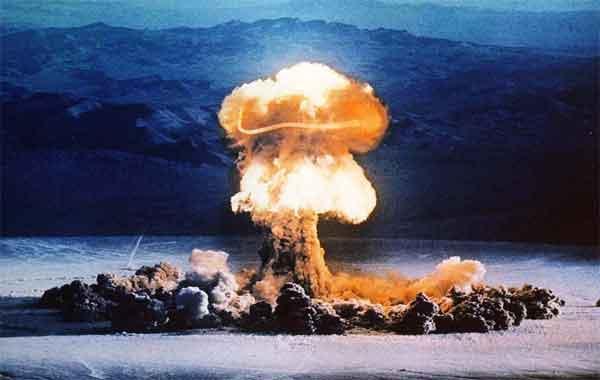Proliferação nuclear - países que atualmente controlam armas nucleares