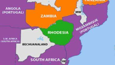 Photo of A declaração unilateral de independência da rodésia-zimbabwe