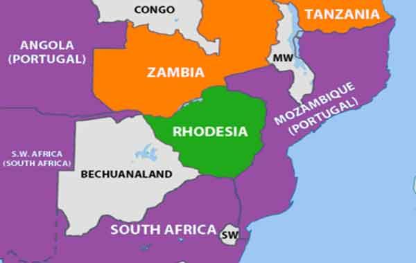 A declaração unilateral de independência da rodésia-zimbabwe