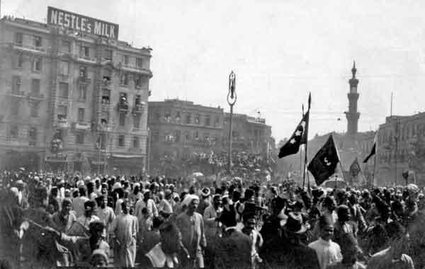 A revolução egípcia de 1919