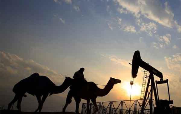 A descoberta de petróleo no Oriente Médio