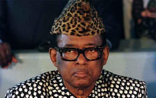 Mobutu Sese Seko - o ditador do Zaire
