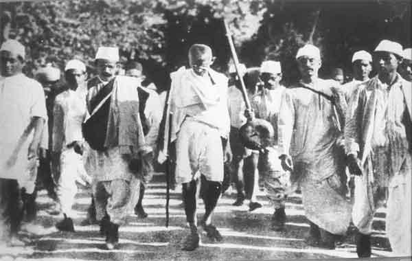 Marcha do Sal na Índia