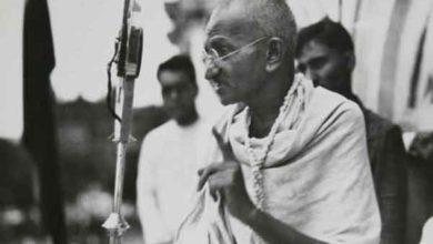 Photo of Retorno de Gandhi para a Índia