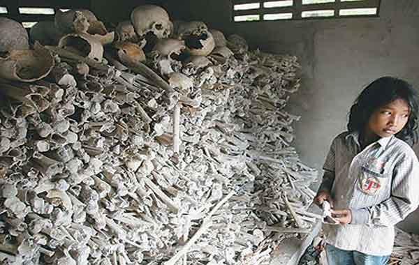 O Genocídio cambojano