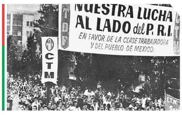 O Partido Revolucionário Institucional Mexicano
