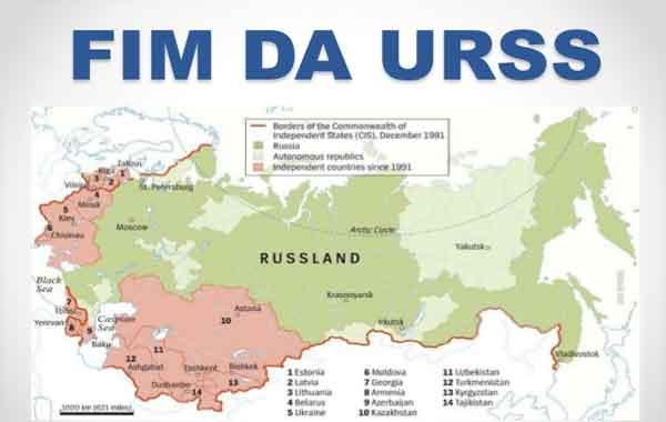 Dissolução da União Soviética - Fim da URSS