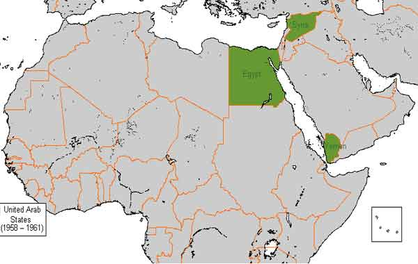 República Árabe Unida